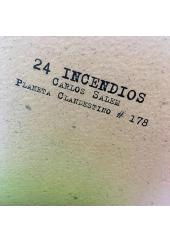 24 INCENDIOS