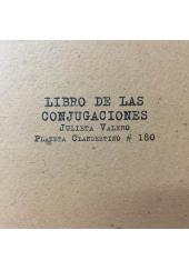 LIBRO DE LAS CONJUGACIONES
